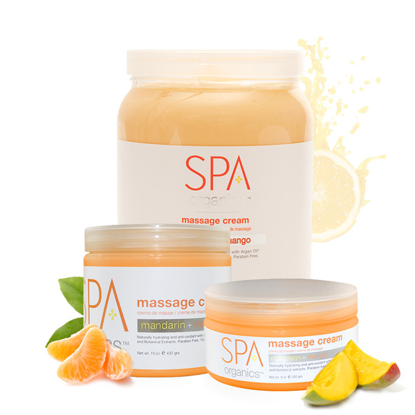 Massage Cream Mandarin + Mango