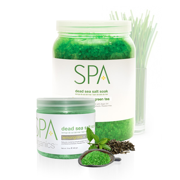 Lemongrass + Green Tea Salt Soak