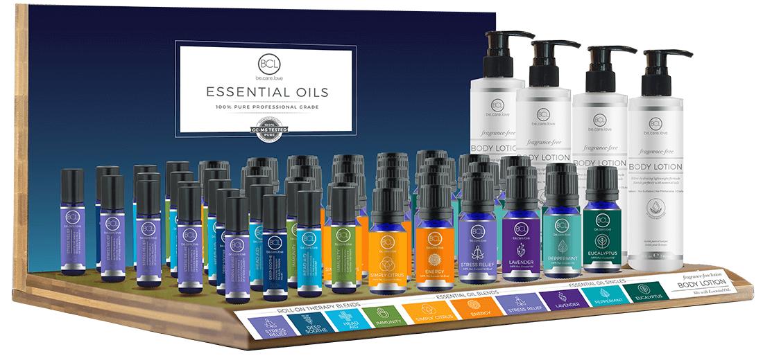 Essential Oils Display